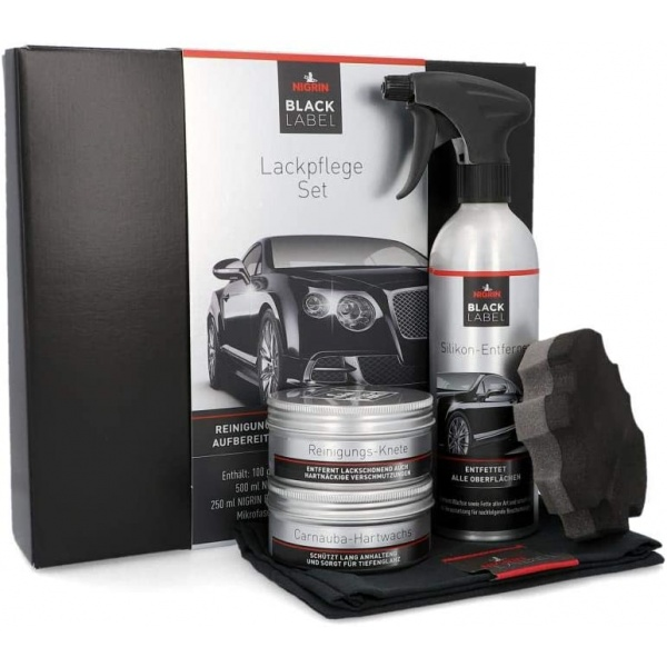 Nigrin Black Label Set Tratament Vopsea Caroserie 72057