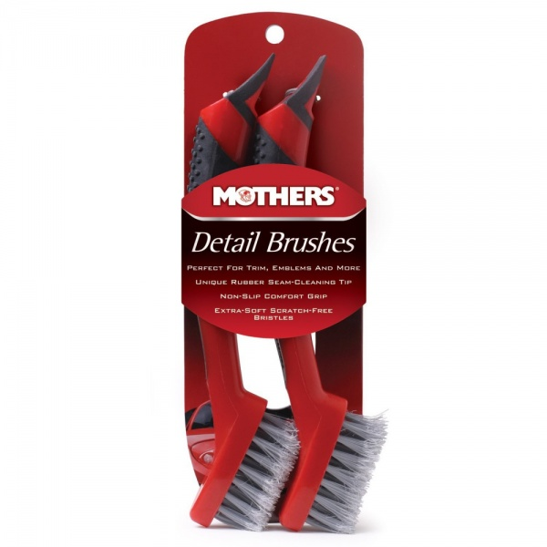 Set 2 Perii Detailing Mothers Detail Brushes 156200