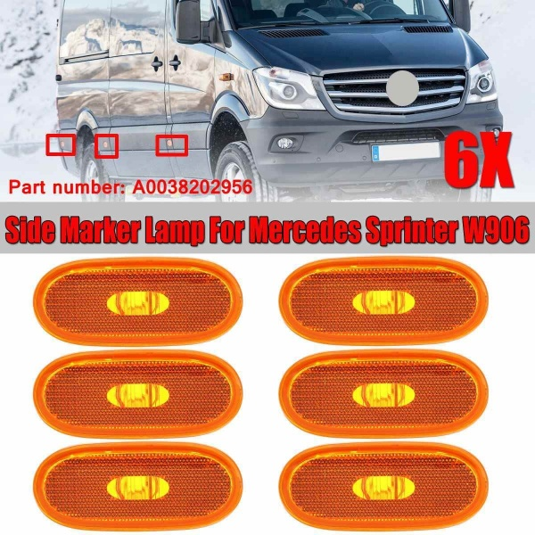 Pachet 6 Buc Lampa Gabarit Am Mercedes-Benz Sprinter 2 2006→ A0038202956