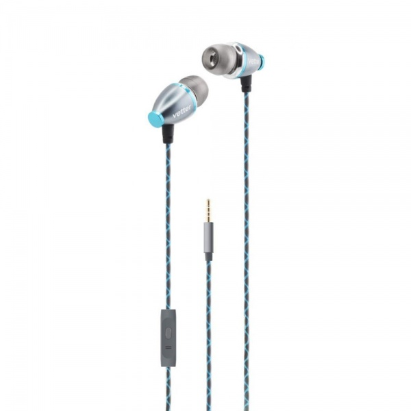 Casti Audio Vetter Clear Sound In-Ear Headphones Handsfree Grey HRVH02D