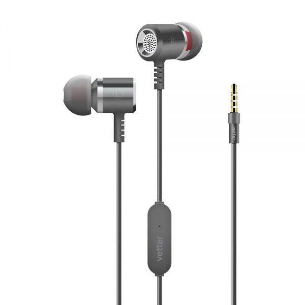 Casti Audio Vetter Clear Sound 2Nd Gen In-Ear Grey HRVH03D