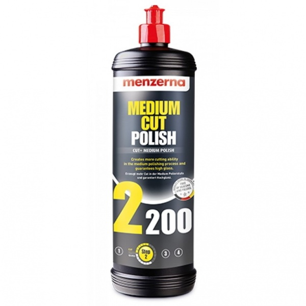 Menzerna Medium Cut Polish 2200 - Pasta Polish Mediu 1L MC2200-1000