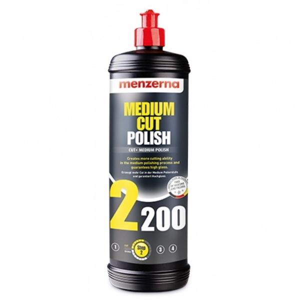 Menzerna Medium Cut Polish 2200 - Pasta Polish Mediu 250ML MC2200-250