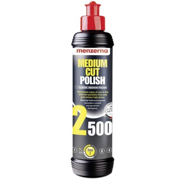 Menzerna Medium Cut Polish 2500 - Pasta Polish Mediu 250ML MC2500-250