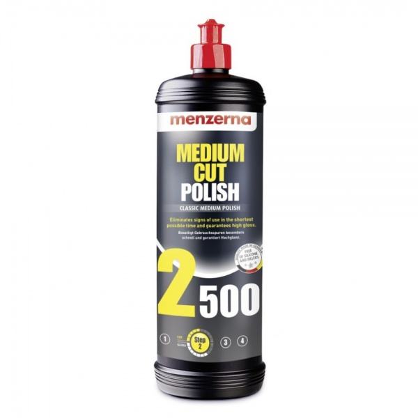 Menzerna Medium Cut Polish 2500 - Pasta Polish Mediu 1L MCP2500