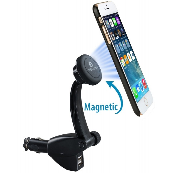 Suport Telefon Art Magnetic + USB HC1791