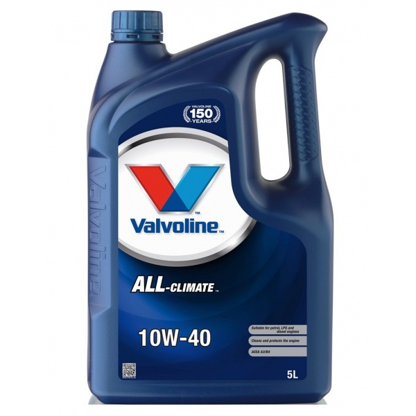Ulei motor Valvoline All Climate Extra 10W-40 5L
