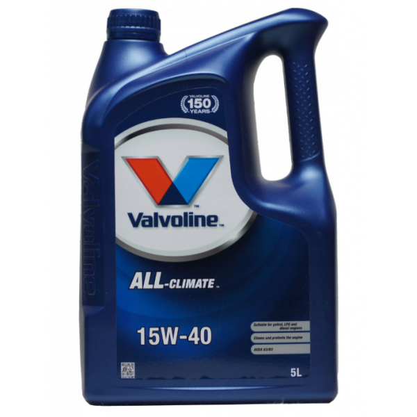 Ulei motor Valvoline All Climate 15W-40 5L