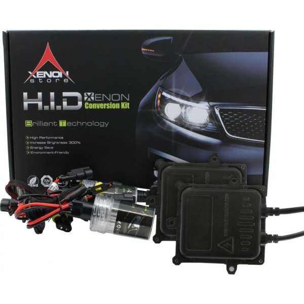 Kit Xenon H7 Ballast Slim Quick Start 6000K 55W 9-16V