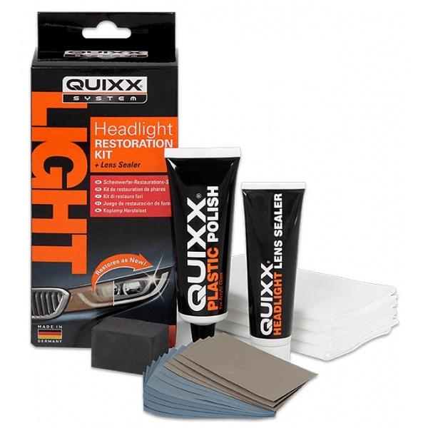 Quixx Kit Pentru Reparația Si Intreținerea Farurilor 30ML 10143