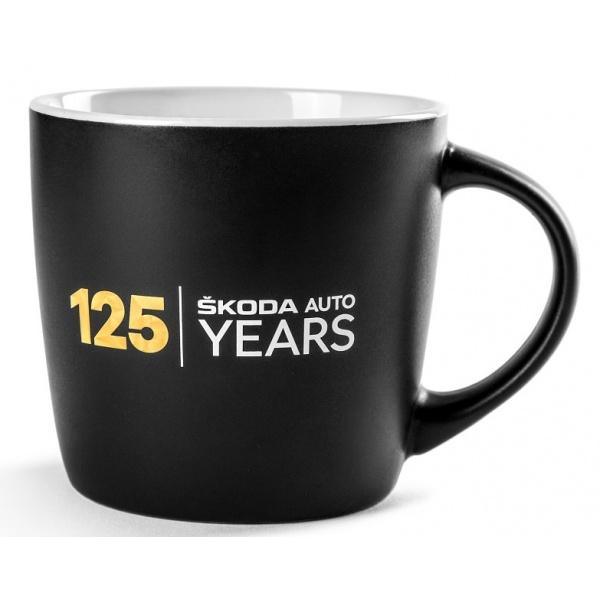 Cana Ceramica Oe Skoda 125 Years Anniversery Negru 000069601BS