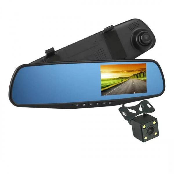 Camera Auto Cu Oglinda 4.3' Full HD 1080P Soundvox L9000-2