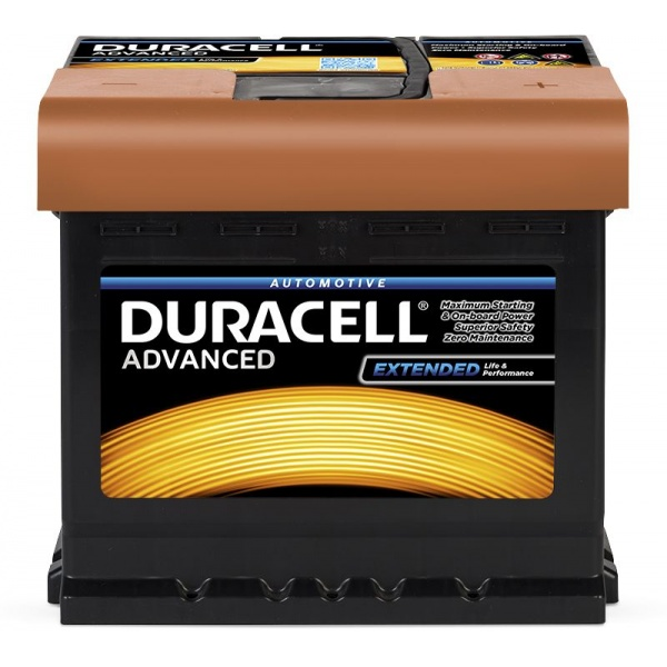 Baterie Duracell Advanced 50Ah 12V 450A 013550030801