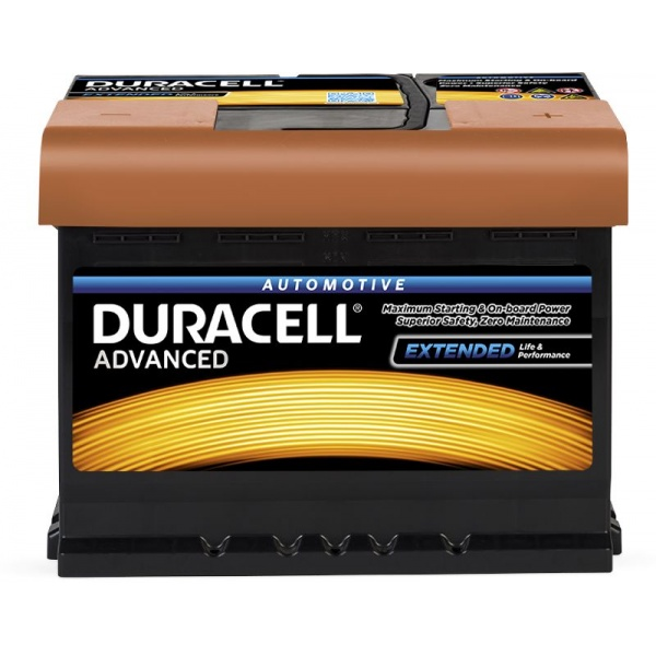 Baterie Duracell Advanced 60Ah 12V 540A 013560090801
