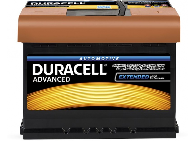 Baterie Duracell Advanced 60Ah 12V 540A 013560090801