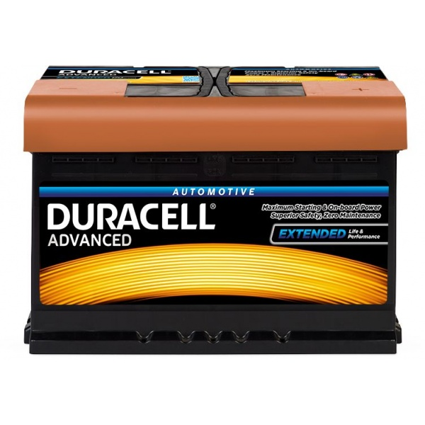 Baterie Duracell Advanced 77Ah 12V 680A 013577420801