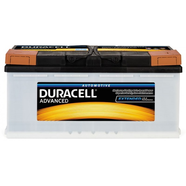 Baterie Duracell Advanced 100Ah 12V 820A 013600400801