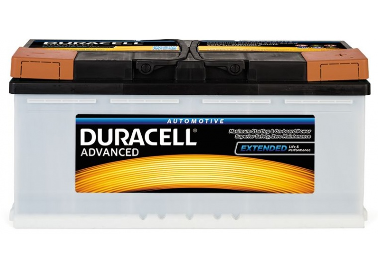 Baterie Duracell Advanced 100Ah 12V 820A 013600400801