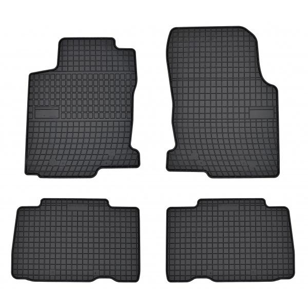 Set Covorase Auto Cauciuc Negro Lexus NX 200 2014→ 410022