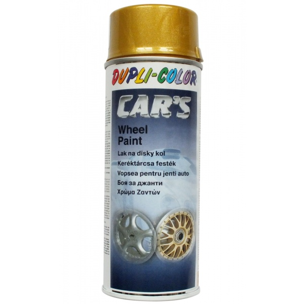 Spray Vopsea Dupli-Color Car's Auriu Jante 400ML 312002
