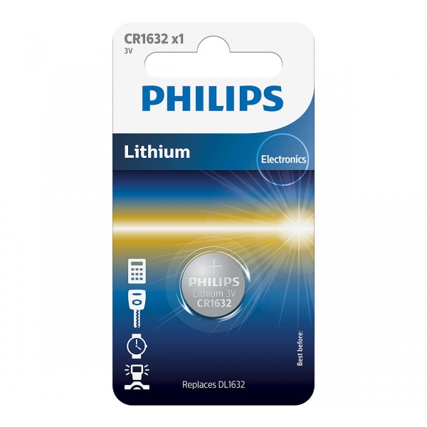 Baterie Philips Litiu CR1632/00B 3V