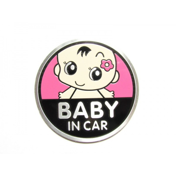 Abtibild Baby In Car TS-120 Roz