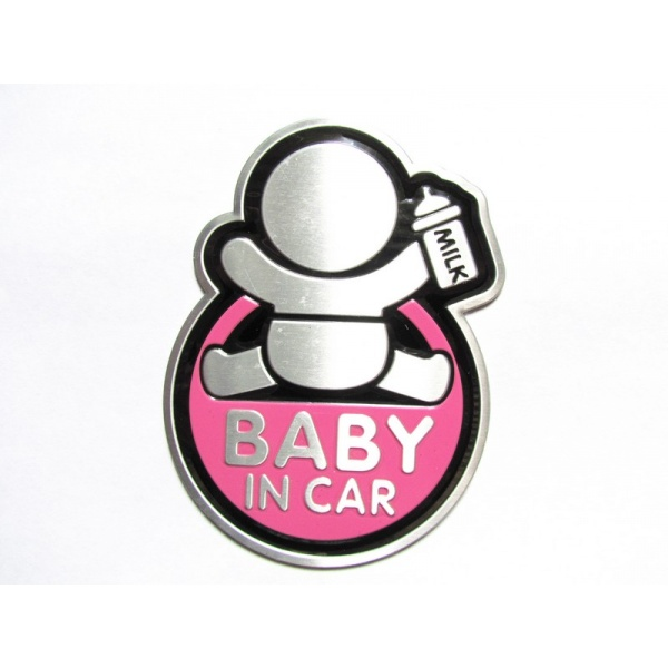 Abtibild Baby In Car TS-126 Roz