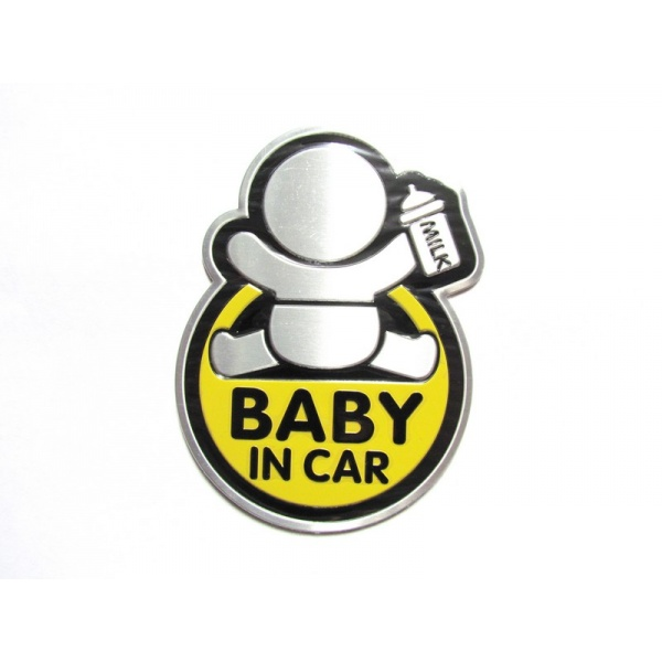 Abtibild Baby In Car TS-128 Galben