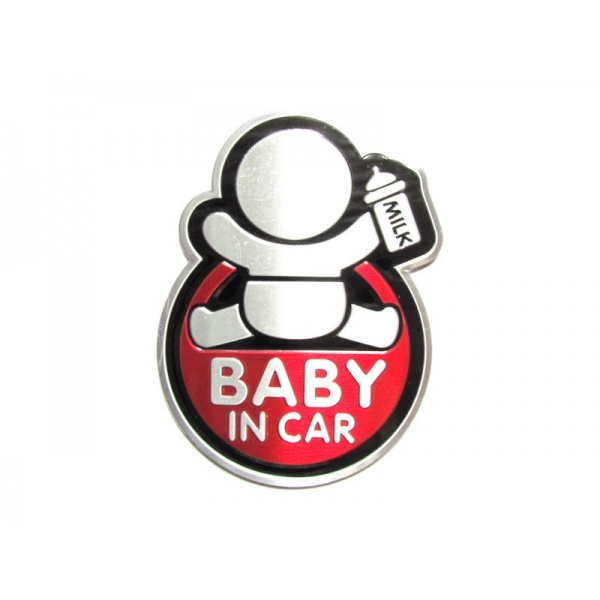 Abtibild Baby In Car TS-125 Rosu