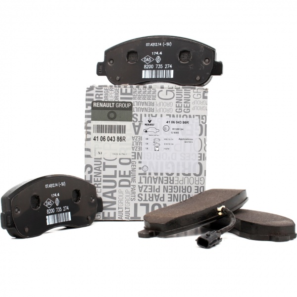Set Placute Frana Dacia 410604386R