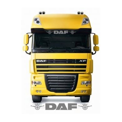Sticker Parasolar Daf Alb KM100SC003