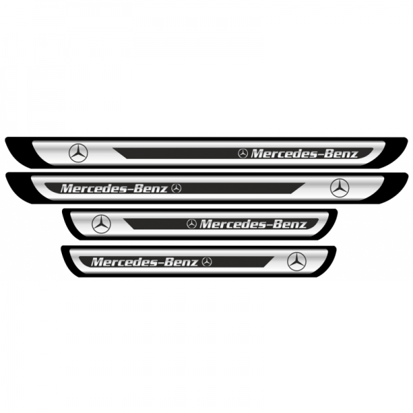 Set Protectie Praguri Sticker Crom Mercedes-Benz