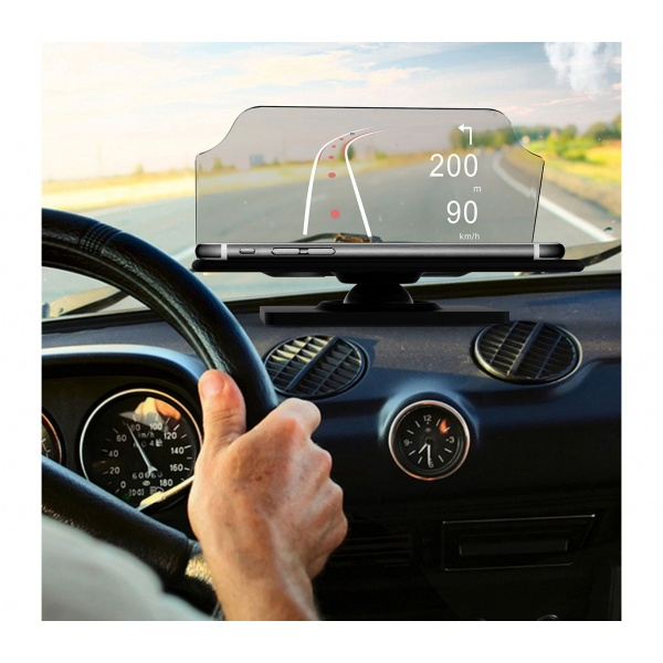 Afisaj Pe Parbriz Head Up Display Pentru Telefon Tip Hud