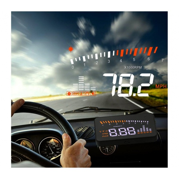 Afisaj Pe Parbriz Head Up Display Tip Streetwize