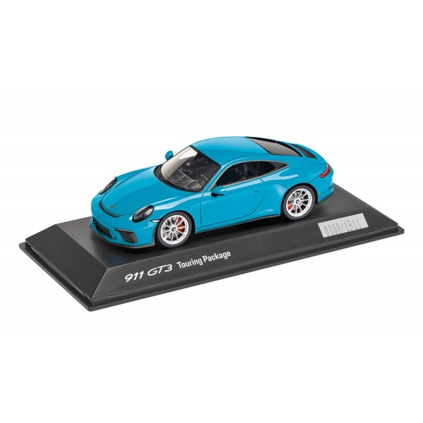 Macheta Porsche 911 GT3 Touring Package Miami Blue Oe Porsche WAP0201630J