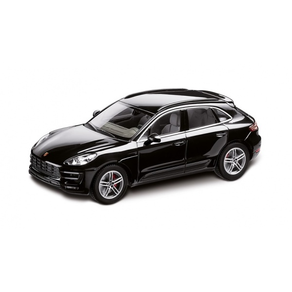 Macheta Porsche Macan Turbo Deep Black Metalic Oe Porsche WAP020152