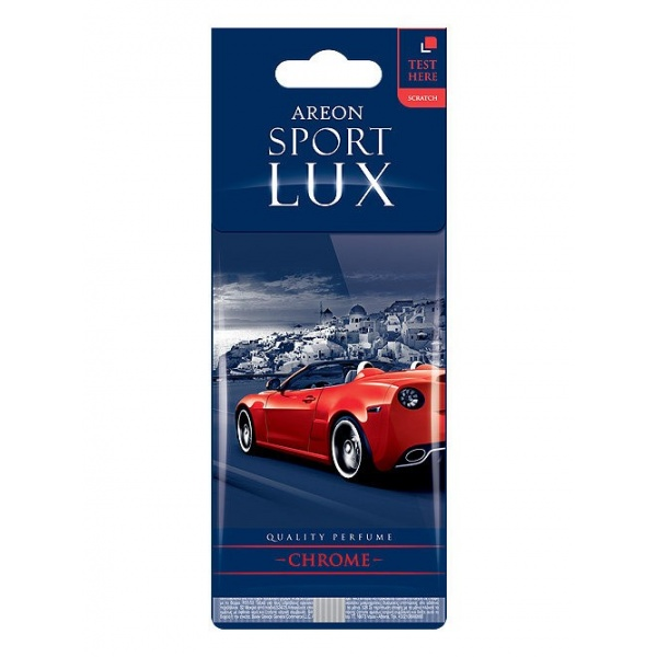 Odorizant Areon Card Sport Lux Chrome