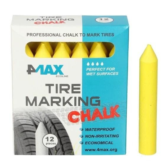 Marker Creion Anvelope 4Max 12 Buc Galben 4806-55-0405Z