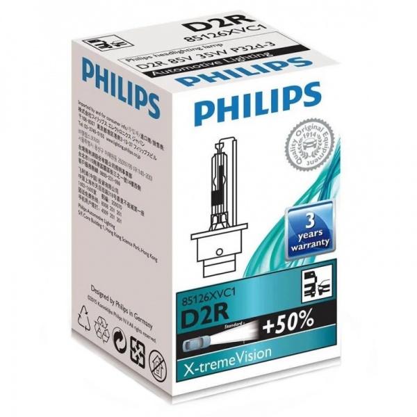 Bec Xenon Philips D2R 35W 85V  P32D-3 X-tremeVision Gen2 85126XVC1