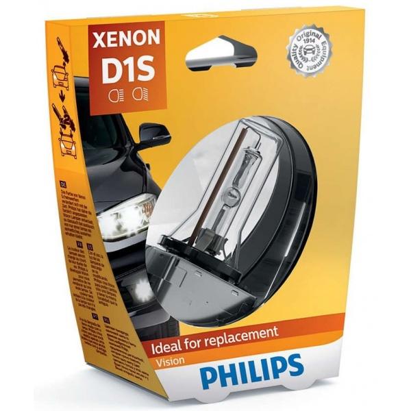 Bec Xenon Philips D1S 35W 85V Pk32d-2 Xenon Vision 85415VIS1