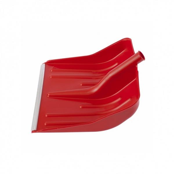 Lopata De Zapada Rosie Plastic Cu Terminatie Aluminiu 400 х 420MM Fara Coada Сибртех 61617