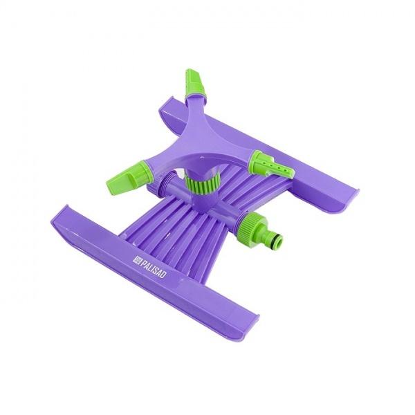 Aspersor Abs Plastic Rotativ Cu 3 Brate Stut D 3/4 Cu Suport Suprafata De Stropire Pana La 180MP Raza De Actiune 15M Palisad 654098