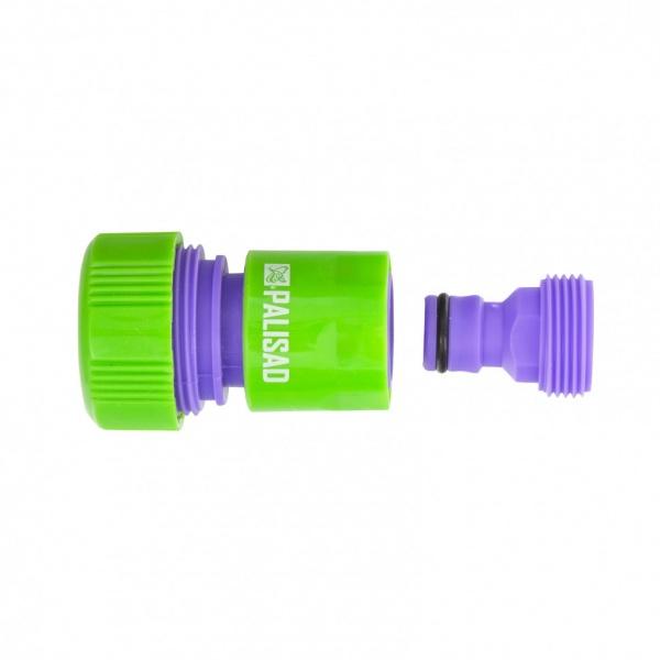 Adaptor Conector Plastic 3/4 Filet Exterior Conector Furtun 3/4 Palisad 657558