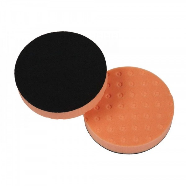 "Lake Country CCS 4"" Spot Orange Light Cutting Pad - Burete Polish Mediu Abraziv 101MM 991764"