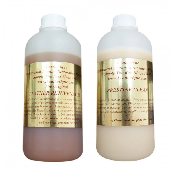 Kit Leatherique Rejuvinator Oil & Prestine Clean 250ML LTR-ROPC-250