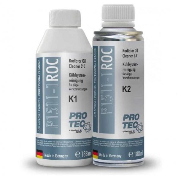 Kit Indepartare Ulei Din Radiator Pro Tec Radiator Oil Cleaner 2-C 188ML PRO1511-1