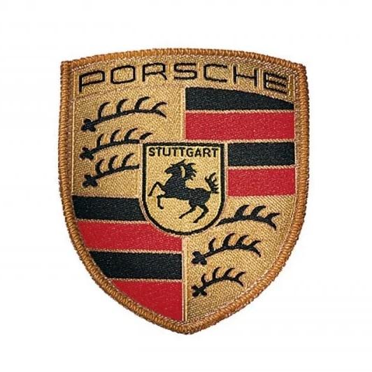 Emblema Ecuson Material Textil Oe Porsche WAP10706714