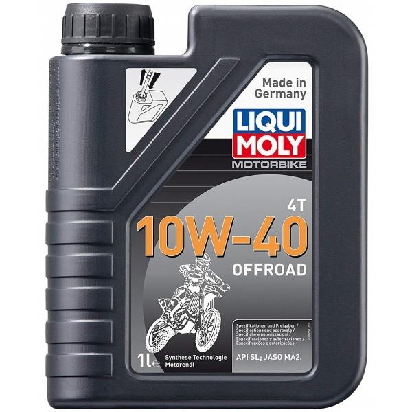 Ulei motor Liqui Moly Motorbike 4T 10W-40 Offroad 1L 3055