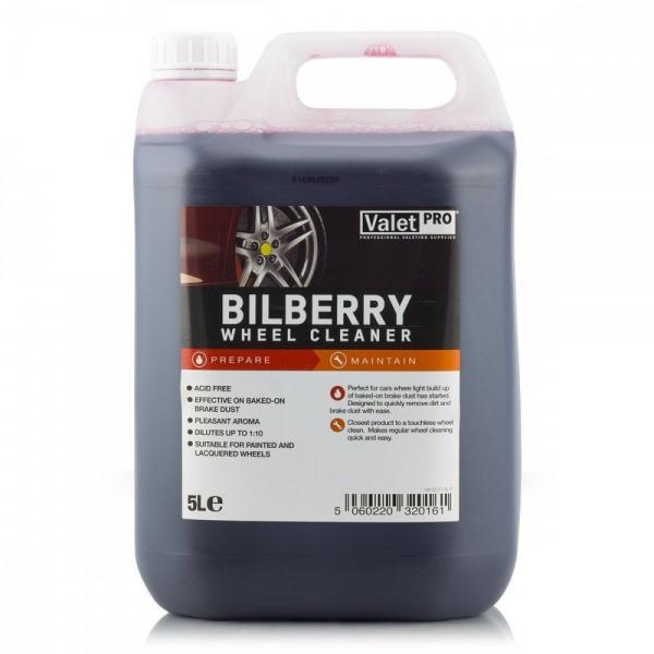 Valet Pro Bilberry Wheel Cleaner - Solutie Curatare Jante 5L EC11-5L