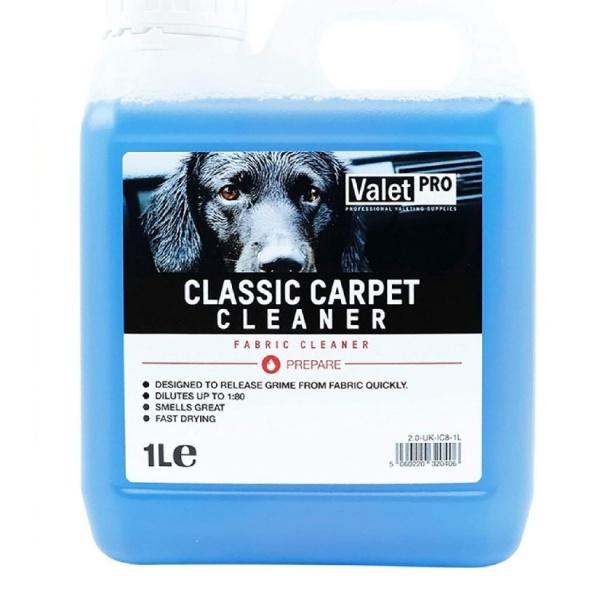 Valet Pro Solutie Curatare Textile Classic Carpet Cleaner 1L IC8-1L
